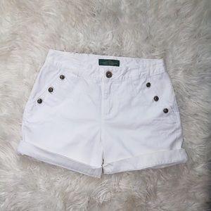 Ralph Lauren denim shorts size 4